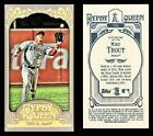 MIKE TROUT - 2012 TOPPS GYPSY QUEEN #336 - MINI VARIANT (FIELDING) - RC