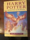 Harry Potter And The Order Of The Pheonix 1st Edition Hardback Book