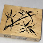 PSX F 1741 1995 Wood Mount RUBBER STAMP TAPESTRY BAMBOO Leaves Stalks Shoots