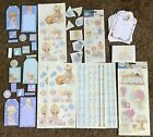LOT OF 2 PRECIOUS MOMENTS VINTAGE STICKER SHEETS 55X12 VERY RARE