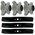 Deck Spindle Blade Kit Combo Cub Cadet 208 364 GT2544 MTD White ZT 1850 Mowers