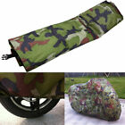 Motorcycle Waterproof Shelter Rain Cover Anti Dust XL Camouflage Universal