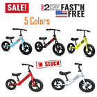 12 Childrens Balance Bike No Pedal Learn to Ride Pre Running Bicycle Kids Gift