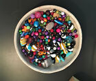 1 4 pound mixed lot of beads many kinds many colors shapes glass more