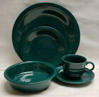 FIESTA China - EVERGREEN Color - 5-piece PLACE SETTING (Dinner,Salad, Bowl, C/S)