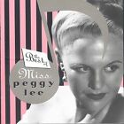 The Best of Miss Peggy Lee by Peggy Lee (Vocals) (CD, Apr-2004, Capitol/EMI...