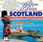 The Bagpipes & Drums of Scotland by The Gordon Highlanders (International) (CD,