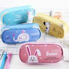 Clear Pouch Stationary Penal Cartoon Big Kawaii School Pencil Case Cat Color Box