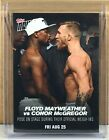 2017 Topps Now Mayweather vs. McGregor Trading Cards 4