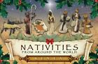 8 Piece Hand Crafted Kenyan Christmas Nativity Scene Set Made in Kenya Dcor New