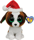 Ty Beanie Boos Presents - Dog with Hat