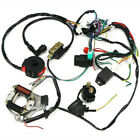 Electric Wiring Harness Wire Loom CDI Stator Kit for 50cc 110cc 125cc ATV QUAD