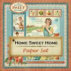 Graphic 45 HOME SWEET HOME 8 Sheets 12x12 Paper Collection Family Scrapbook