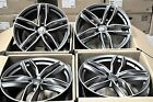 21 Wheels For Audi A6 A8 2017 Q5 Q7 21x95 Inch 5X112 +30 Rims Set of 4