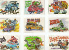 1980 Topps Weird Wheels Trading Cards 32