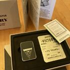 ZIPPO 75th Anniversary Commemorative of the End of WWII VE Day 49264 Gift Box