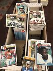 1,400+ Card 1979 Topps Football Lot w Hall Of Famers EX-MT