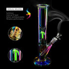 1024 Glow in the Dark Colorful Glass Hookah Bong Shisha Smoking Water Pipe
