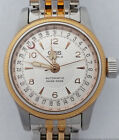 Vintage Oris Date Automatic Immaculate Dial Two Tone Wrist Watch