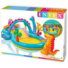 Intex Dinoland Dinosaur Inflatable Swim Play Center Kiddie Backyard Pool 57 Gal