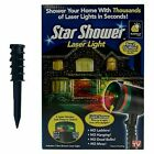 Star Shower Laser Light Holiday Lights Red or Green Spray Pattern Indoor Outdoor
