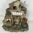 FONTANINI ITALY EARLY POULTRY SHOP NATIVITY VILLAGE BUILDING GORGEOUS