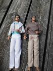 Michael Jackson LJN Dolls Lot Two Vintage 1984 MJJ Productions with clothing