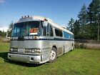 Vintage retro 52 Greyhound bus conversion motor home mobile home or business