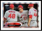 MIKE TROUT - 2012 TOPPS CHROME XFRACTOR #144 - ANGELS - ROOKIE CARD