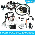 Full Electrics Wiring Harness Wire loom CDI Stator for ATV QUAD 150 200 250CC