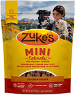 Zukes Natural Training Dog Treats Mini Naturals Recipe Made in USA Facilities