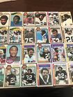 (71) 1970s 1976 1977 1979 Topps Football Lot All HOfers And Stars VG+ EX