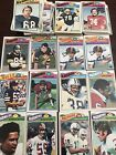 (99) 1977 Topps Football Card Lot EX 99 Cards