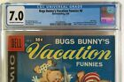 1st Roadrunner & Coyote Bugs Bunny's Vacation Funnies #8 1958 Dell Giant CGC 7.0