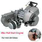 49cc Engine 2-Stroke Mini Moto Gearbox Carburettor Air Filter Dirt Bike Quad ATV