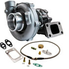 63 A R Stage III T04E T3 T4 44 Trim Compressor Turbo Turbocharger+Oil Feed Line