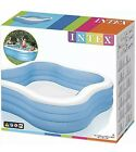 Intex Swim Center Family Inflatable Pool 90 X 90 X 22 for Ages 6+ FAST SHIP