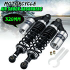 2X 12.5'' 320mm Motorcycle Rear Air Shock Absorbers Suspension For Honda Suzuki