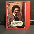 1976 Topps Welcome Back Kotter Set of 53 Cards Sku473A