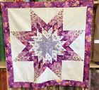 Lone Star Patchwork Quilt Top LS 016 Made in U S A