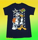 New Space Jam Bugs Bunny Daffy Duck Looney Tunes Vintage 1996 Mens T Shirt