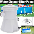 Electric Swimming Pool Filter Pump Water Cleaning Above Ground Pool US PLUG