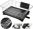 Stainless Steel Dish Drying Rack Drainer Holder Tray Storage Kitchen Space Saver