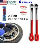 Motorcycle Key Tire Iron Repair Kit Tire Change Lever Tool & Rim Protection USA