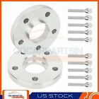 2 20mm Hubcentric Wheel Spacers 5x112 12x15 For Mercedes Benz C230 C250 SL500