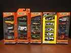 Matchbox 5 Pack Camp Jeep Police Canyon Base Space Mission Lot Of 5 Dela3308