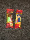 VINTAGE Peanuts PEPPERMINT PATTY & LINUS PEZ DISPENSERS SET OF TWO - SEALED