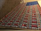 Man Cave Decor American Flag made up of EMPTY beer cans