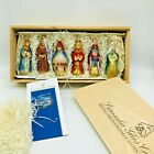 Lauscha Glas Creation Ornaments Christmas Nativity Germany Christian Holiday