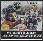 2019-20 Topps NHL Sticker Collection Hockey Factory Sealed Display Box 50 Packs